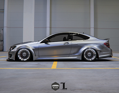 Mercedes-Benz W204 Coupe Widebody