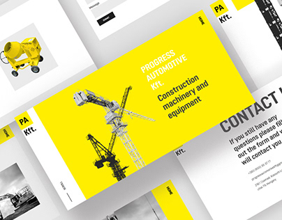 Website design for Progress Automotive