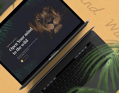 WildMind - Graphic Design Portfolio Website