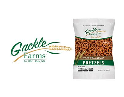 Gackle Farms Logo & Package Design