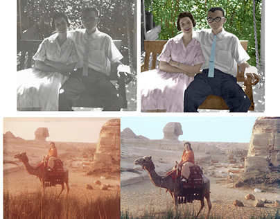 Photo restoration and colorization