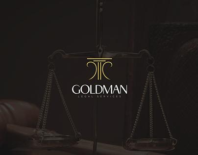 GOLDMAN   Law Firm Logo Presentation