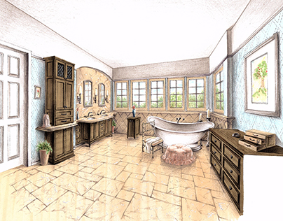 Bathroom Design Renderings