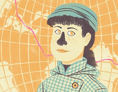 Se Eva batte Icaro / Editorial Illustrations