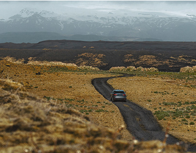 A Jaguar in Iceland