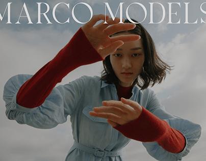 MARCO MODELS AGENCY WEBSITE DESIGN