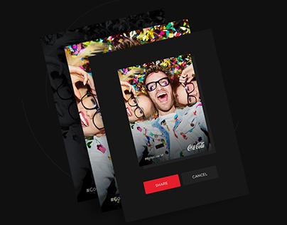 Coca-Cola - Photobooth Application