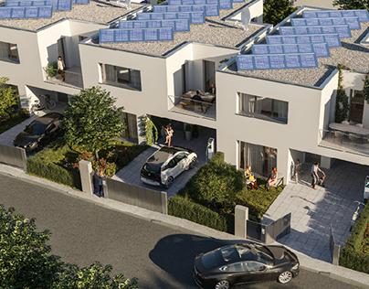 Residential housing near Vienna