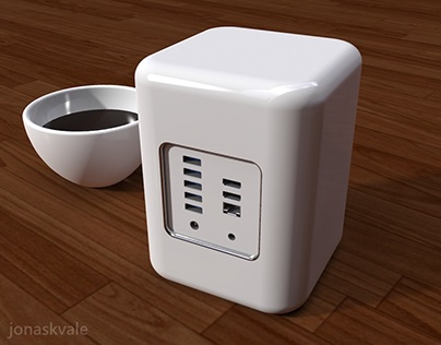 Desktop Mini PC concept