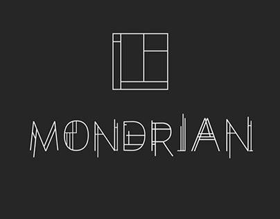 Mondrian Type Design