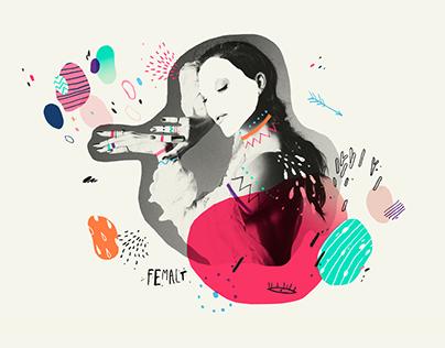 Femalt / Female Artist Festival — Branding
