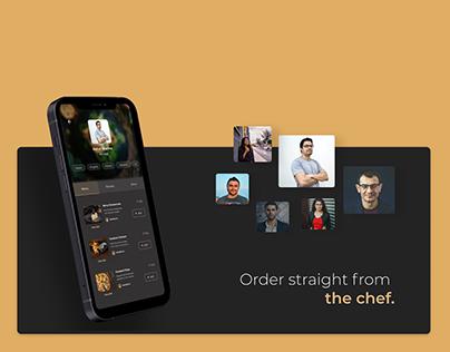 Authentic Savoury Homemade Recipes | Mobile App UI UX