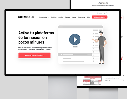 Web design for foxizecloud.com