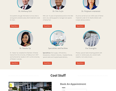 Joomla Dental Website