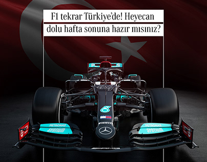 Formula 1 in Turkey.
