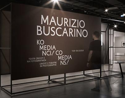 Maurizio Buscarino. Visual Identity / Exhibition