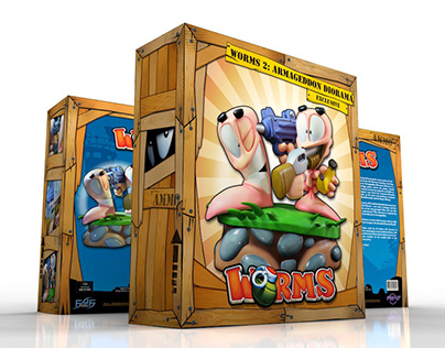 Worms 2: Armageddon Diorama