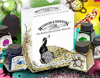 Winsor & Newton Ink Competition