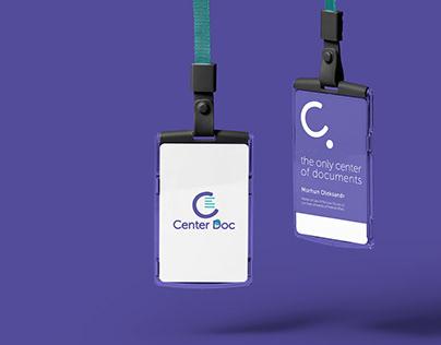 Center Doc branding