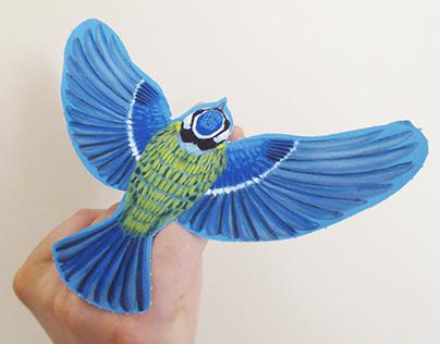 Marionnettes Oiseaux (Wakou n°344 Novembre 2017)
