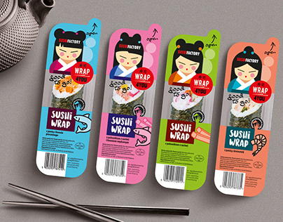 Projekt linii opakowań Sushi Factory Wrap4You