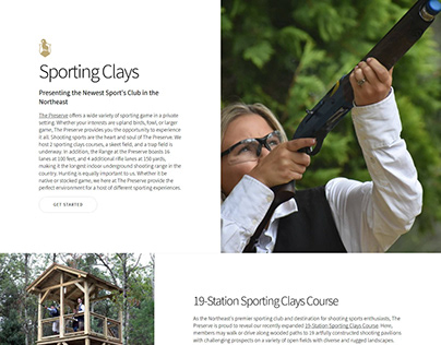 Landing Page: Sporting Clays RI