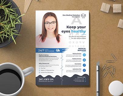 Modern Medical & Healthcare Flyer
