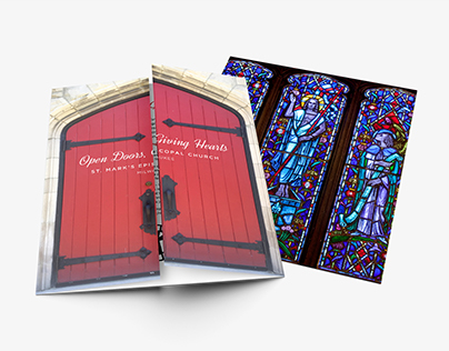 St. Mark's Episcopal Church Gate Fold Brochure 2016