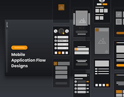 A Mobile Application Flow