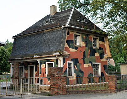 Painted house – mural for IBUG Festival