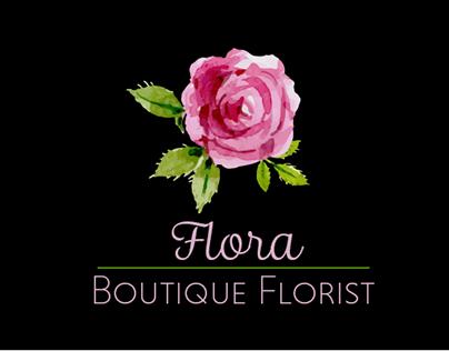 Flora: Boutique Florist Branding Identity Package