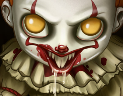 """Pennywise """"IT"""" 2017"""
