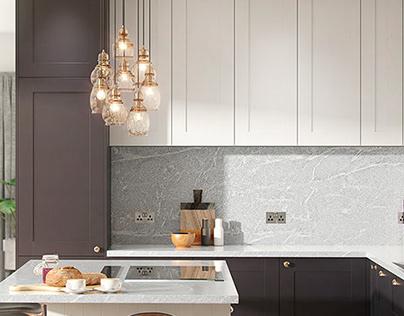 Samerson Kitchen // Interior Kitchen CGI Illustration