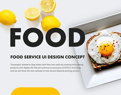 UI4D_UI Design_Kits_Food