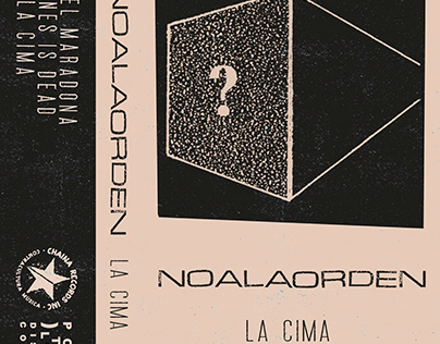 """Arte y Diseño """"NoALaOrden"""" cassette"""