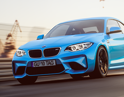 BMW M2 rendering project