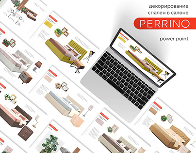 PERRINO / decor for furniture store / power point