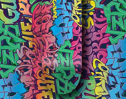 Grind Skateboarding -Ilustração para Shape
