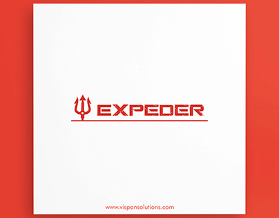 A logo design concept of EXPEDER