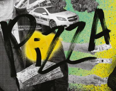 The Crust - pizza branding