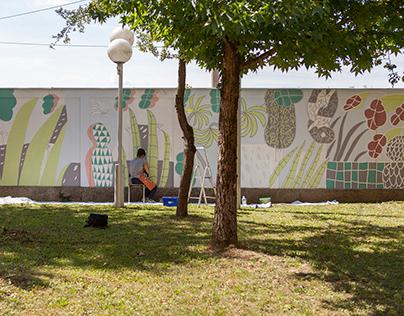 "Mural ""Garden"""