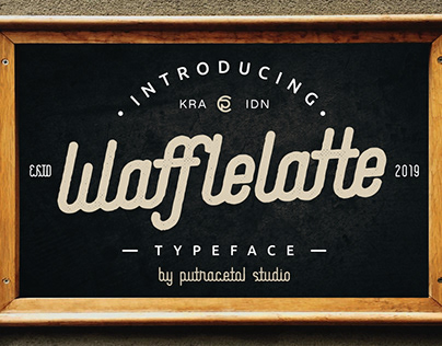 Waffle Latte Font