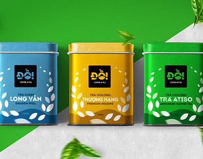 Đồi - Coffee & Tea | Brand Identity and Packaging