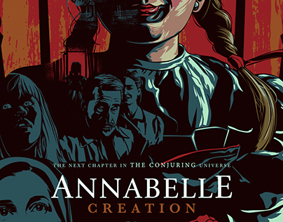 ANNABELLE CREATION Alternative Movie Poster