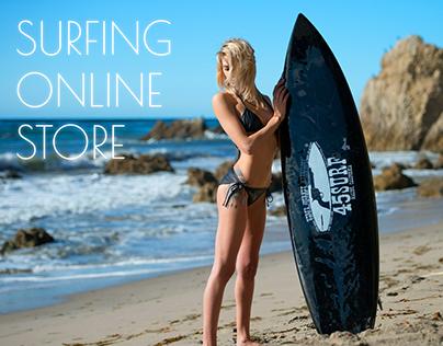 #Surfing Online Store