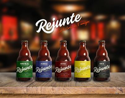 REJUNTE - Logo & Packaging