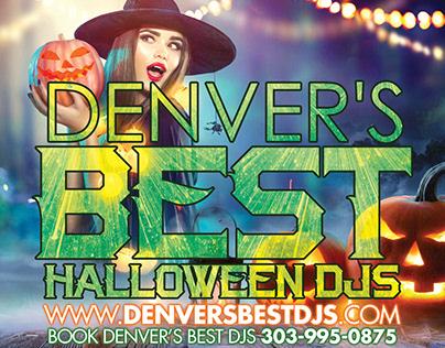 Denver's Best Halloween DJs Promo Designs