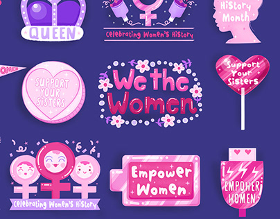 Snapchat Women's History Month Stickers