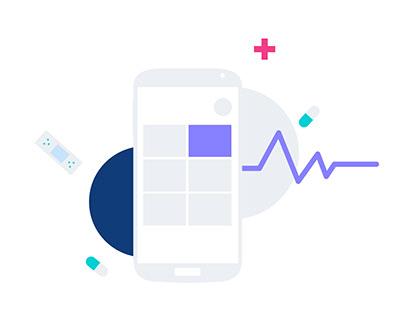 Hackathon health android app