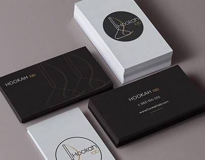 Set of logotypes for hookah